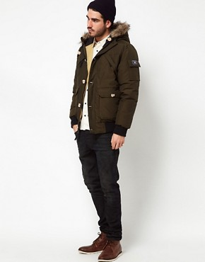 Image 4 ofPenfield Canyon Short Parka with Faux Fur Hood