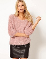 ASOS Fluffy Oversized Jumper