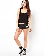 Wildfox - Polo Girl - Pantaloncini da ginnastica