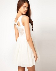 ASOS Prom Dress With Lace Back Detail