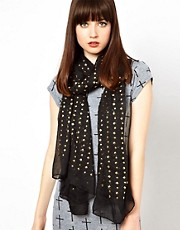 ASOS All Over Stud Scarf