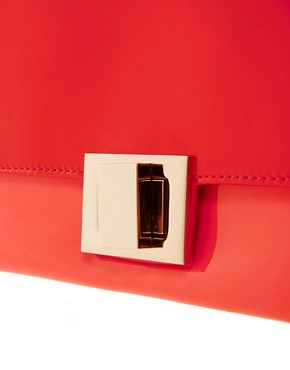 Image 2 ofAldo Landaverde Patent Clutch Bag