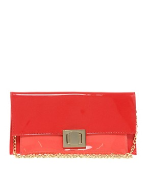 Image 1 ofAldo Landaverde Patent Clutch Bag