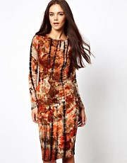 Glamorous Tie Dye Midi Dress