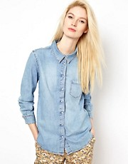 BA&SH Denim Shirt