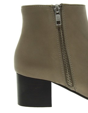 Image 3 ofWhistles Bijou Mid Zip Boots