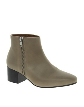 Image 1 ofWhistles Bijou Mid Zip Boots