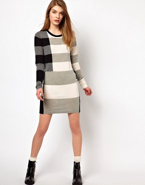 Image 4 ofMarkus Lupfer Stripe Emma Dress