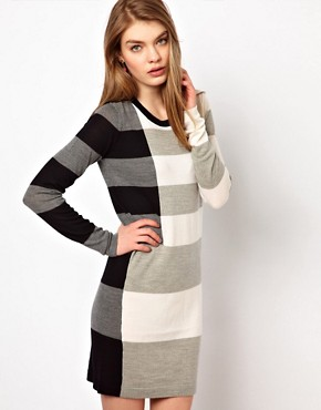 Image 1 ofMarkus Lupfer Stripe Emma Dress