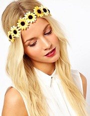 Johnny Loves Rosie Daisy Chain Headband