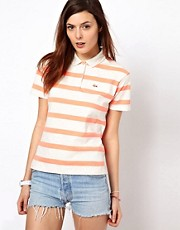Lacoste L!Ve Striped Polo Shirt