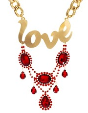 ASOS Love Statement Jewelled Necklace