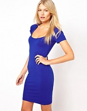 ASOS Mini Bodycon Dress With Short Sleeves