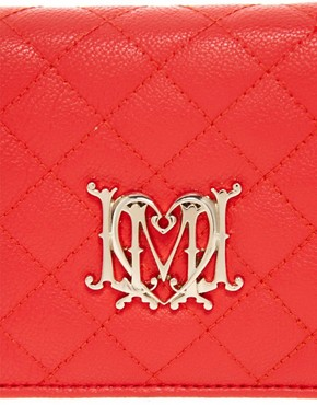 Image 4 ofLove Moschino Quilted Evening Bag