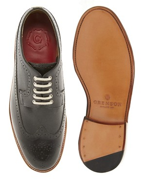 Image 3 ofGrenson Sid Long Wing Brogues