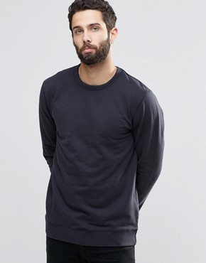 Only & Sons Crew Neck Sweatshirt with Ribbed Neck