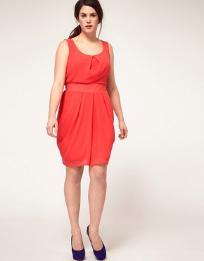 Image 4 ofASOS CURVE Tulip Dress