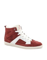 Jack &amp; Jones Flow Mid Suede Trainers