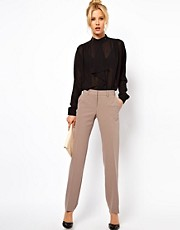 ASOS Pants In Straight Leg