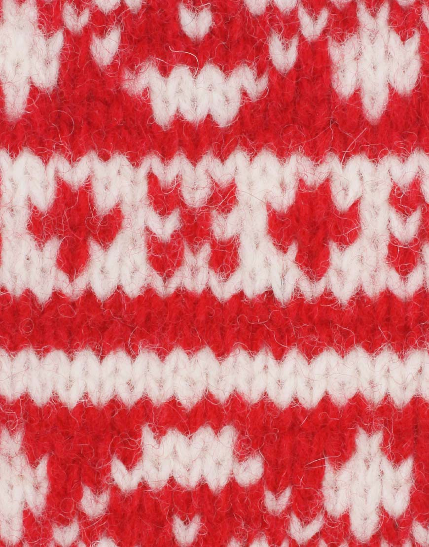 Image 2 of ASOS Wool Fairisle Mitten With Detachable String