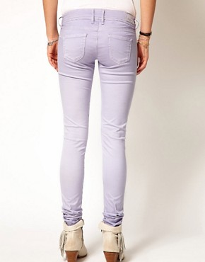Image 2 ofPepe Jeans Skittle Pastel Skinny Jeans