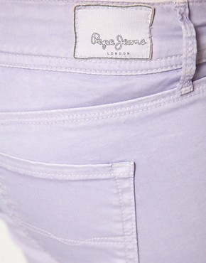 Image 3 ofPepe Jeans Skittle Pastel Skinny Jeans