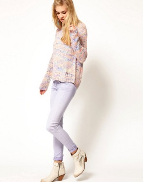 Image 4 ofPepe Jeans Skittle Pastel Skinny Jeans