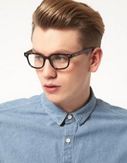 A J Morgan Clear Lens Glasses
