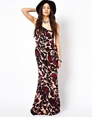 One Teaspoon Shiver And Shake Maxi Dress