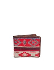ASOS Wallet In Aztec Fabric