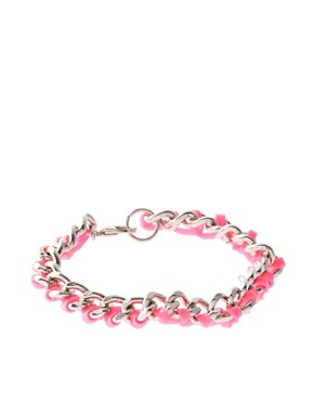 Image 2 ofASOS Chain And Gummy Bracelet