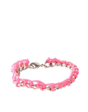 Image 1 ofASOS Chain And Gummy Bracelet