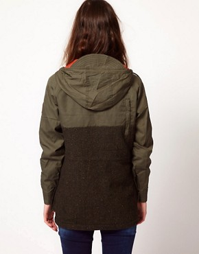 Image 2 ofPenfield Kasson Tweed Anorak Jacket