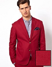 ASOS Slim Fit Suit Jacket in Cotton