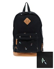 ASOS Backpack with Print Panels
