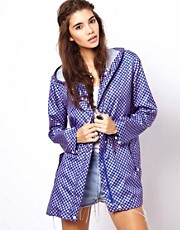 ASOS Pac A Parka In Geo Print
