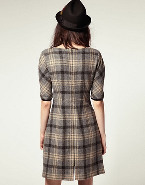 Image 2 ofNW3 by Hobbs Padstow Check Dress
