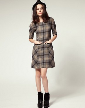 Image 4 ofNW3 by Hobbs Padstow Check Dress