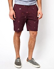 Farah Vintage &ndash; Shorts mit Angelhakendruck