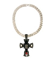 ASOS Premium Ophelia Cross Necklace