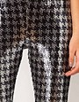 Image 3 ofASOS Leggings with Sequin Dogstooth Panel