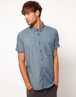 Image 1 of Jack & Jones Mono Short Sleeve Shirt