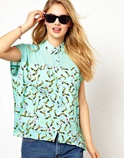 Andy Warhol By Pepe Jeans Banana Shirt