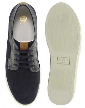 Image 3 ofH by Hudson Tanum Suede Trainers