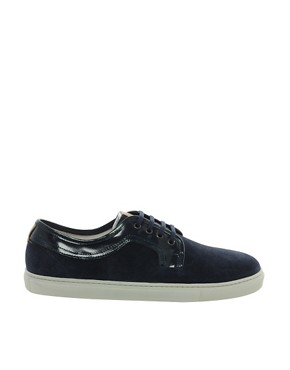 Image 4 ofH by Hudson Tanum Suede Trainers