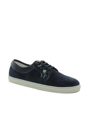 Image 1 ofH by Hudson Tanum Suede Trainers