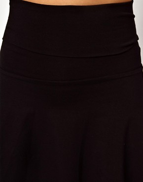 Image 3 of American Apparel High Waist Jersey Skirt