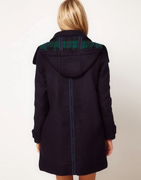 Image 2 ofASOS Bonded Duffle Coat
