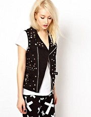 Tripp Nyc Studded Gilet