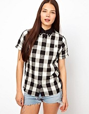 Fred Perry For The Amy Winehouse Foundation Gingham Shirt